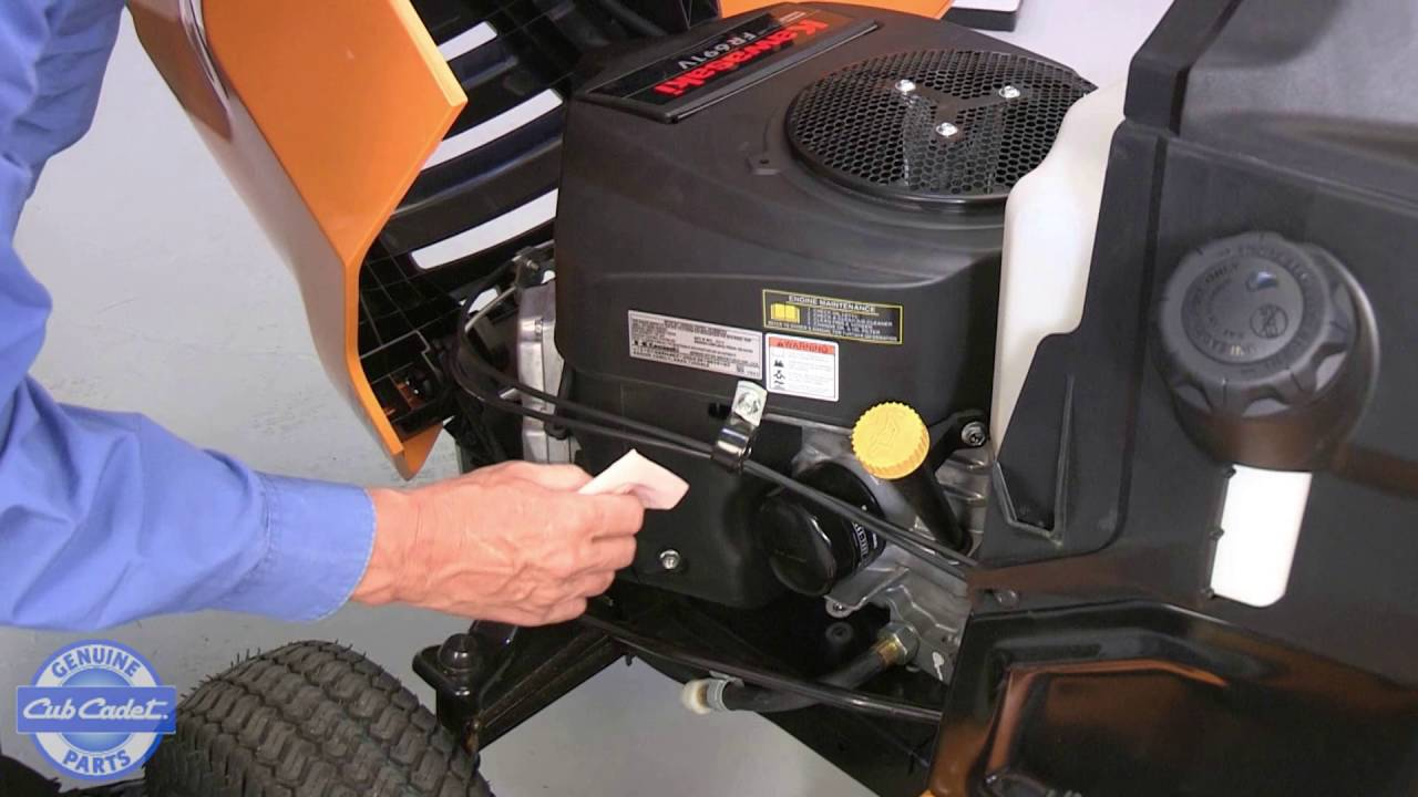 Force Engine Carburetor Diagram Changing The Air Filter On Your Cub Cadet Lawn Tractor