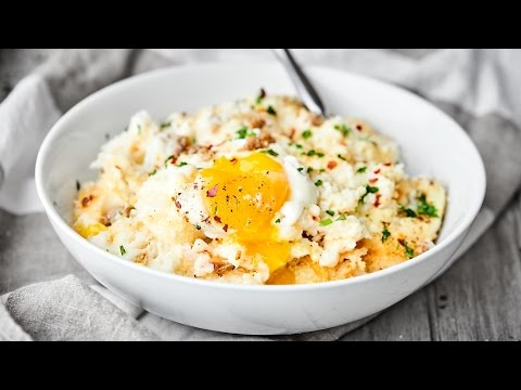 Breakfast Mashed Potato Casserole
