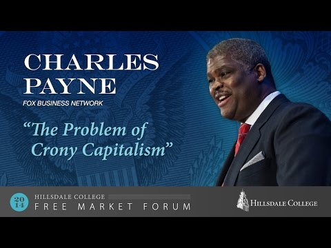 """The Problem of Crony Capitalism"""