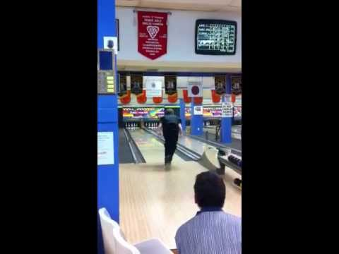 Jon Hall from Georgian Bowl rolls 11 strikes in a row to bo