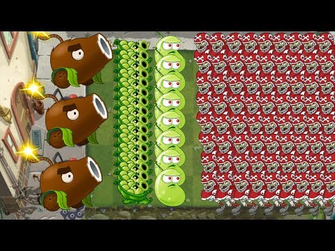 Plants vs Zombies 2 - Coconut Cannon, Sling Pea, Laser Bean