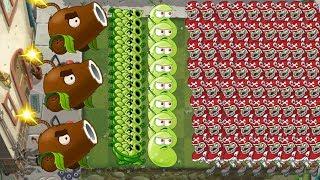 Plants vs Zombies 2 - Coconut Cannon, Sling Pea, Laser Bean