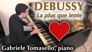 Debussy La Plus que lente pour piano 德彪西