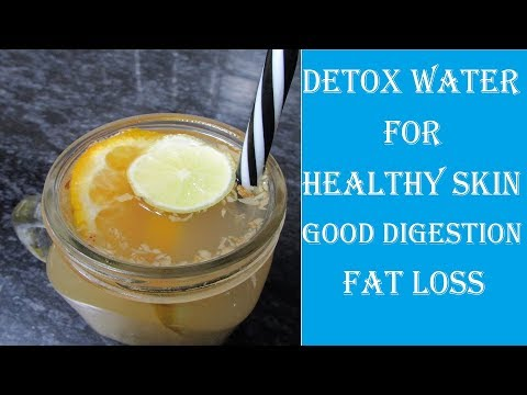detox-drink-for-healthy-skin,-improved-digestion-&-weight-loss- detox-water-removes-toxins-from-body