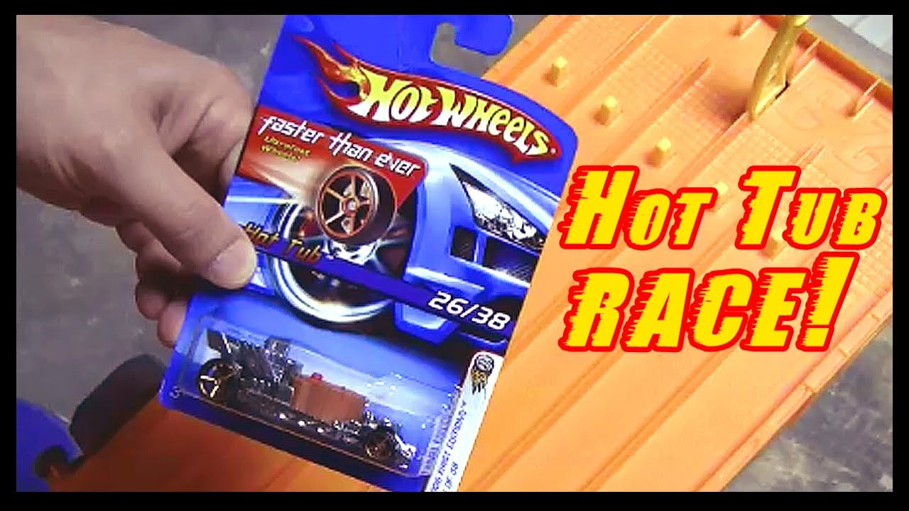 hot wheels hot tub car racing the fastest hot wheels. Black Bedroom Furniture Sets. Home Design Ideas