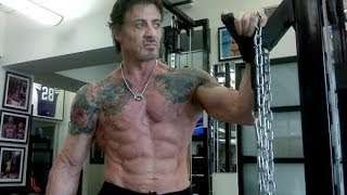 Repeat youtube video ▪█─ HD Athlet─█▪ Sylvester Stallone Workout - Training