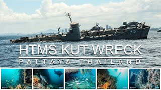 HTMS Kut AKA THe Khood Wreck Diving Pattaya Thailand