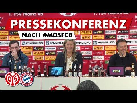 Pressekonferenz nach Bayern | #M05FCB | 05er.tv
