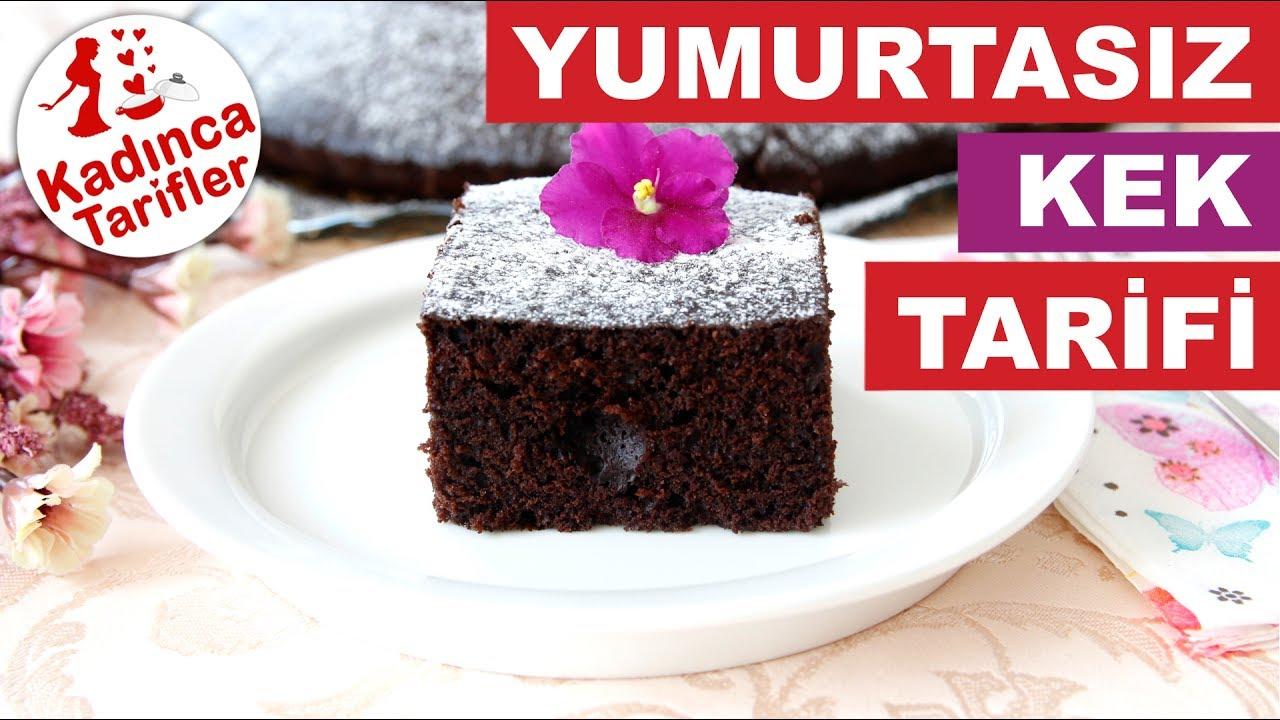 Yumurtasız kek Tarifi
