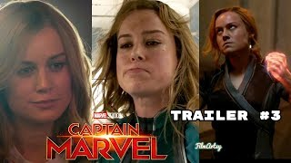Captain Marvel Official Trailer #3 - NEW FOOTAGE - Brie Larson 2019