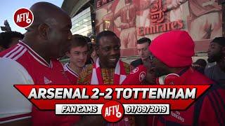 Arsenal 2-2 Tottenham | I Was Expecting Ozil To Play! (Belgium & Ty)