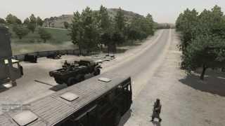 Waki Taki: The Bus Ride Pt. 2/2 - Takistan Life ArmA 2 Mod (1080p)