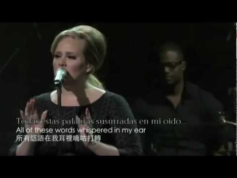 Adele - Rumor has it en español+inglesh (lyrics)