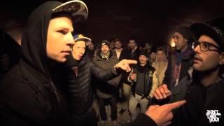 Tobi High & Max Stoned vs Lockenkopf & Tschappy // DLTLLY RapBattle // 2016