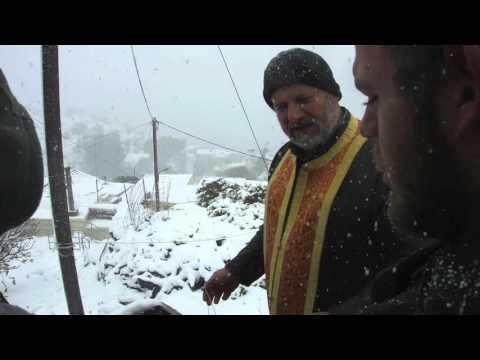 Θεοφάνεια 2015, Βρύσες Αγίου Βασιλείου, Ρεθύμνου Κρήτης