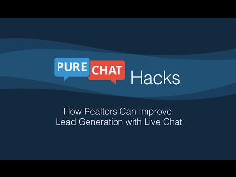 How Realtors Can Improve Lead Generation With Live Chat