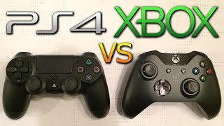 PS4 vs XBOX ONE Controller Comparison - Thumbsticks, Triggers & Design! (Playstation 4 vs XB1)