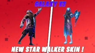 Fortnite - France Nouvelle fuite Star Walker Skin 'Galaxy v2' Saison 10