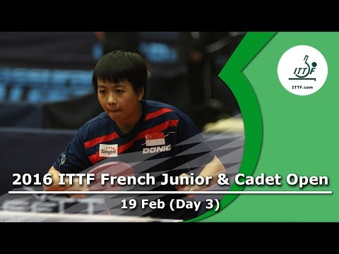 2016 French Junior & Cadet Open - Day 3 LIVE