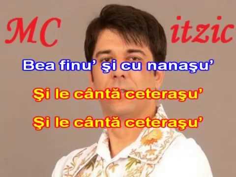 ▶ Ghita Munteanu   Bea finu  si cu nanasu  Karaoke Romanesti   YouTube