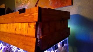 Diy Aquarium Canopy Almost, Reef Radiance Led