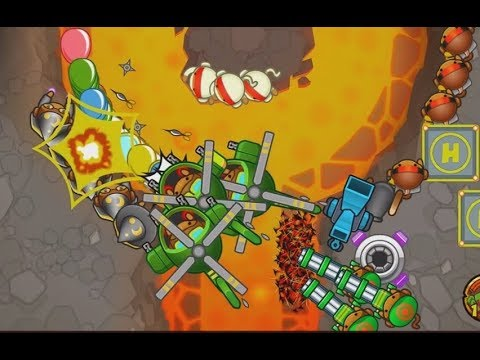 Bloons Monkey City - The Great Poop Volcano