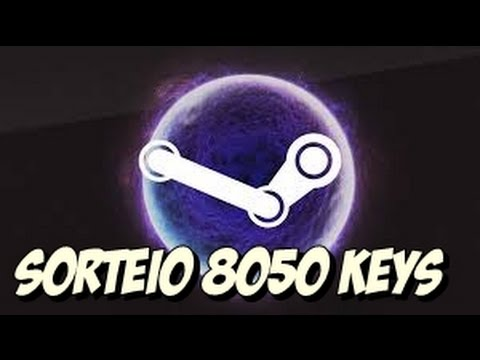 Sorteios: 8050 Keys Steam