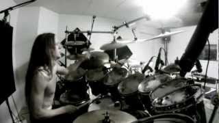 Netherbird - Studio Session summer 2012 - #2 - Nils Fjellström - Warm up