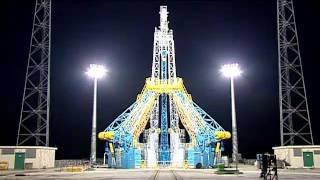 Soyuz launch site construction