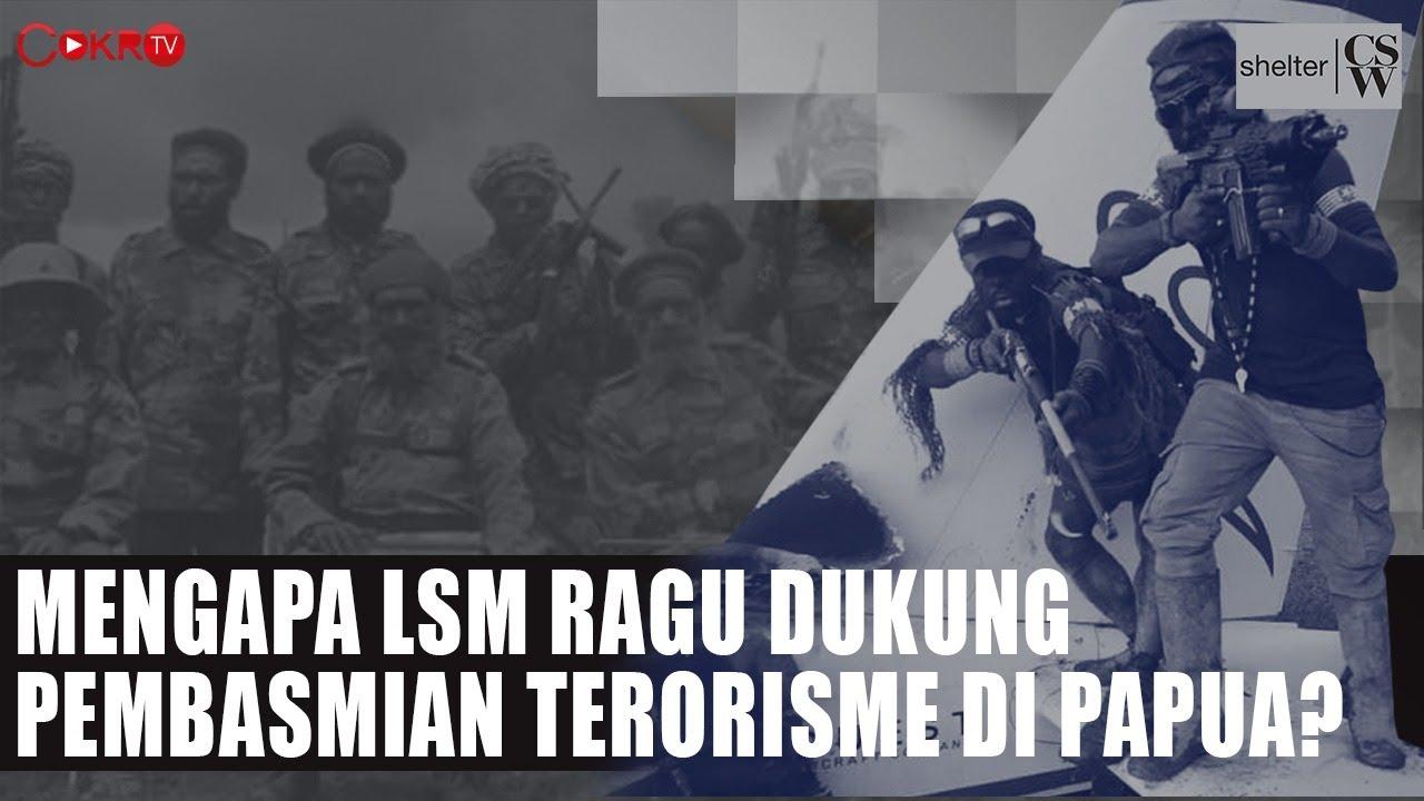 MENGAPA LSM RAGU DUKUNG PEMBASMIAN TERORISME DI PAPUA?   Shelter CSW