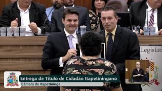 01ª Sessão Solene  - Gustavo Rizzo Ricardo - 2019