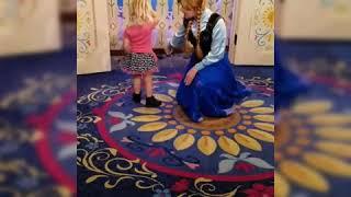 Anna and Elsa at WDW Epcot!!