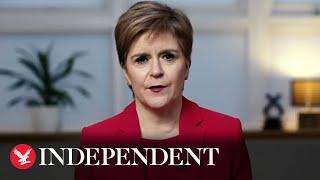 Nicola Sturgeon begs to re-enter the EU.
