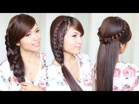 3-cute-&-easy-summer-hairstyles-for-medium-to-long-hair