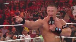 John cena & the rock vs awesome truth at wwe survivor series 2011! and miz r-truth raw 10/24/11 24/10/11...