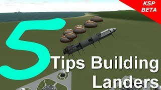 Kerbal Space Program 5 Tips Building Landers