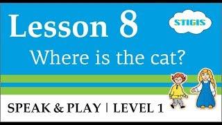 Урок английского языка для детей. Английский язык с мамой //  Урок 8  Speak & Play