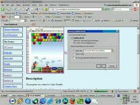 Microsoft excel games