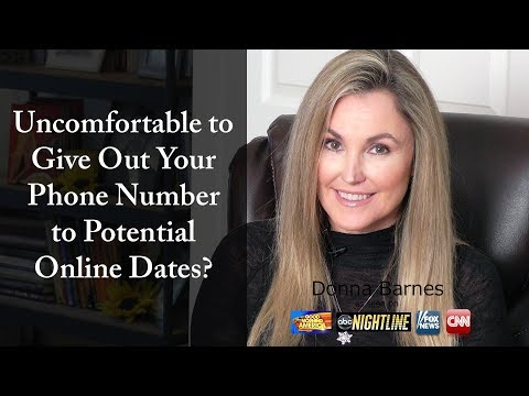 How to give someone your phone number online dating