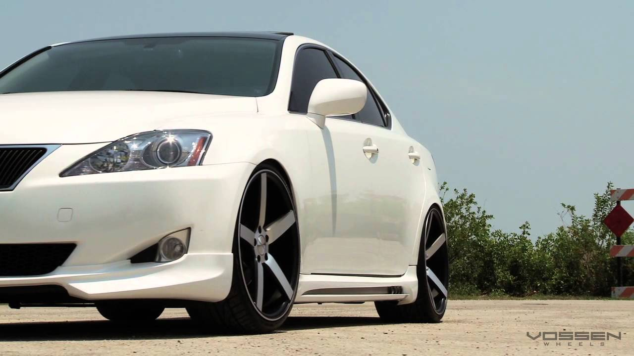 Lexus Is250 On 20 Vossen Vvs Cv3 Concave Wheels Rims Youtube