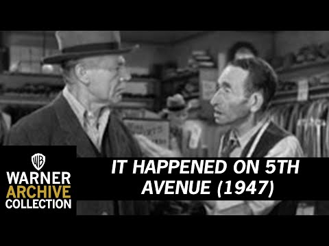 It Happened On Fifth Ave (1947) – The Trouble With Wool