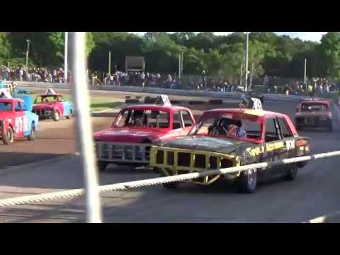 Historic Stock Cars Arlington 15/06/2016 heat 1