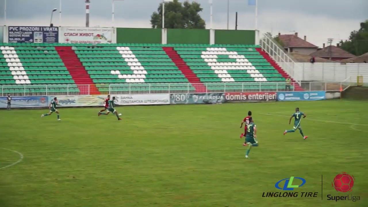 Инджия  0-1  Вождовац видео
