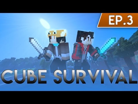 Minecraft Cube Survival #3 - เกาะลอยน้ำ ft. RisezGaMer MainChannel