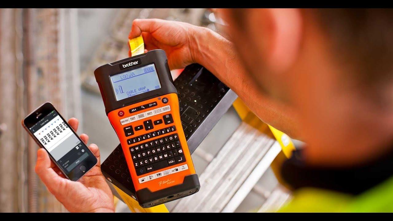 Brother Label Printer Range For Electricians Pt-E110Vp -7724