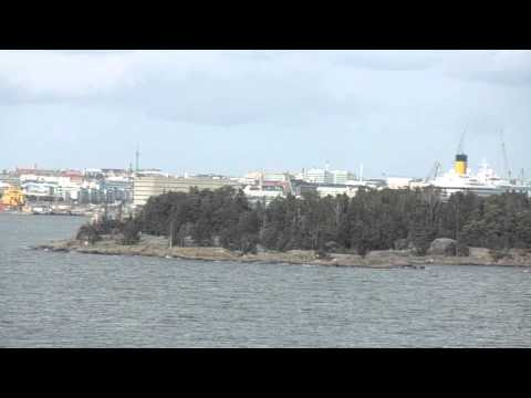 Finland to Estonia on the Tallink Ferry