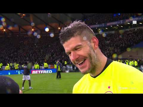 Celtic Hero Fraser Forster Gives His Thoughts On An Incredible Keeping Display