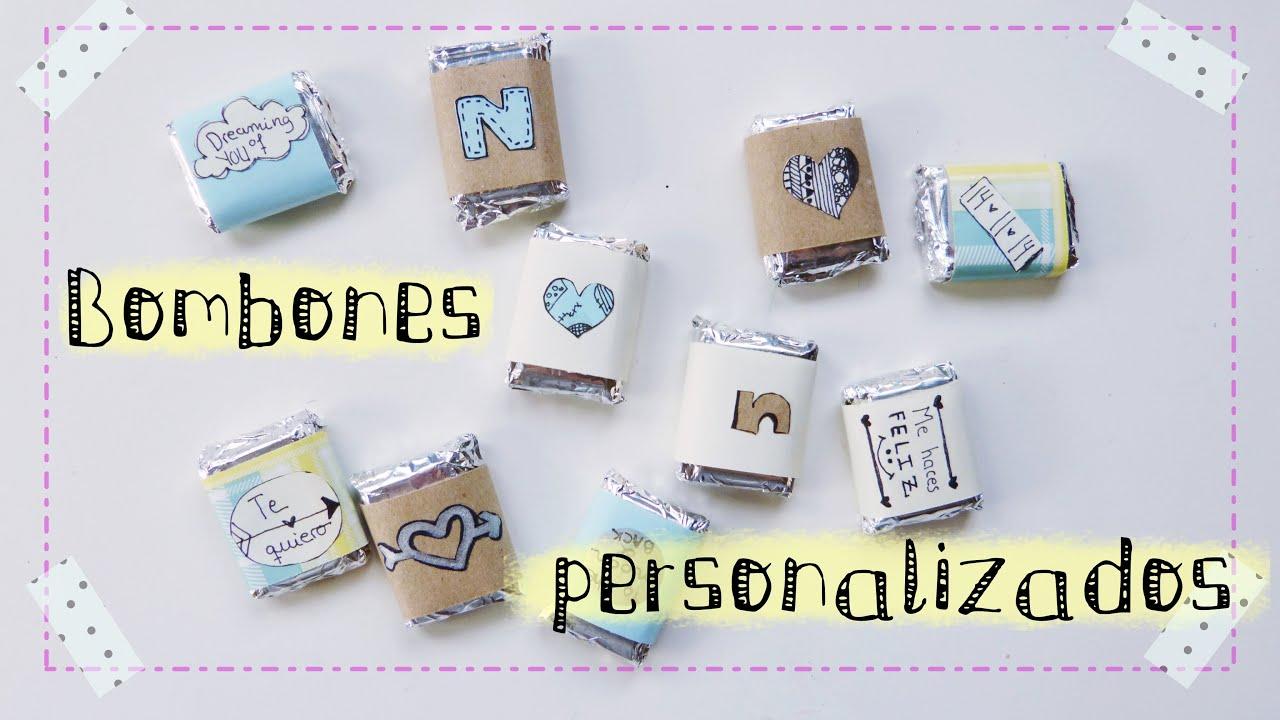 envoltorios para dulces y bombones idea regalo