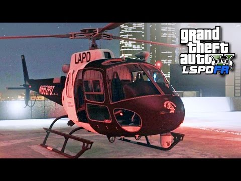 GTA 5 LSPDFR SP #220 - Air Support Division