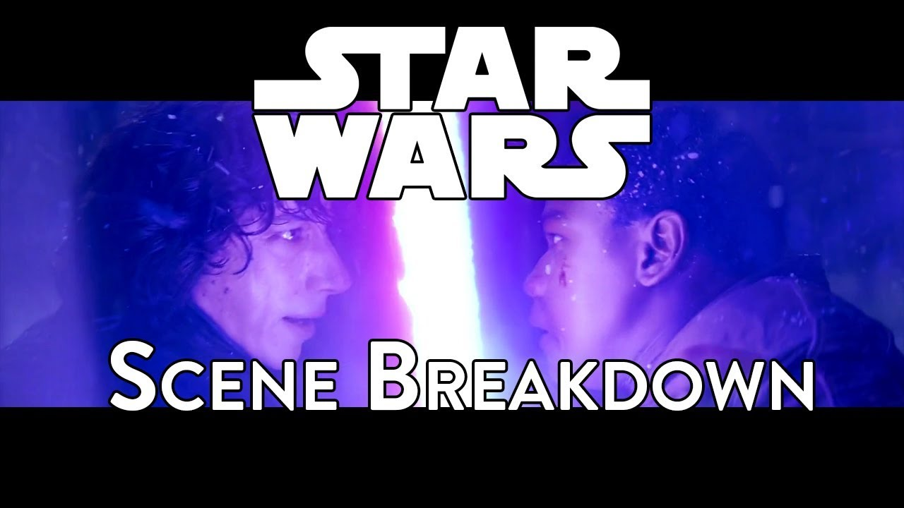 star wars episode vii the force awakens kylo ren vs  star wars episode vii the force awakens 2015 kylo ren vs finn scene breakdown a video essay
